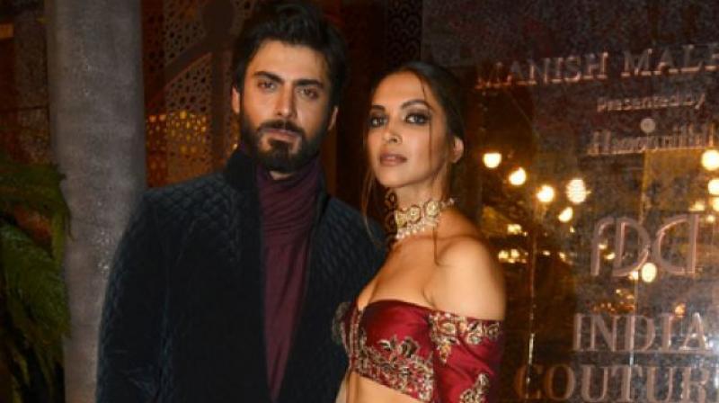 Rumours that Fawad will play Deepika Padukone's husband in Rani Padmavati are false.