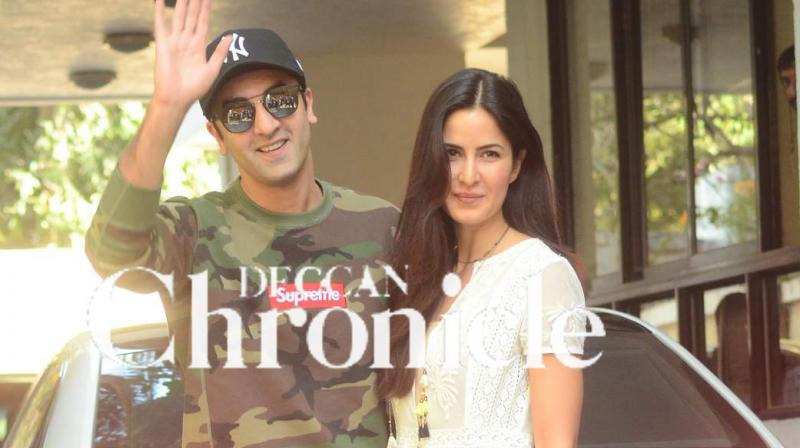Katrina Kaif and Ranbir Kapoor.