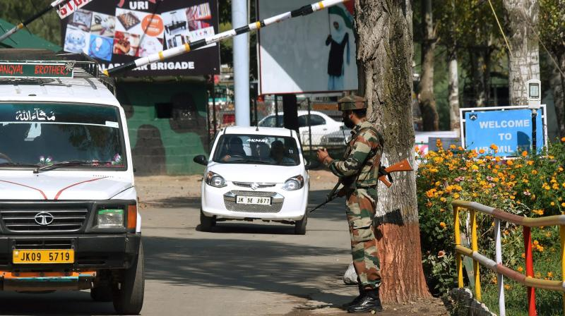 No civilian movement was hampered. At the AOC Secunderabad, the AOC Administration building, JCO's club, EME Secunderabad were locked. (Photo: PTI) (Representational image)