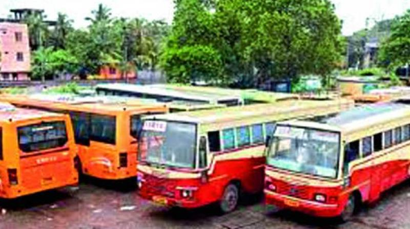 However, an official at at the counter in Ernakulam said a trend of switching over from private luxury buses to KSRTC can be known only after a couple of weeks.