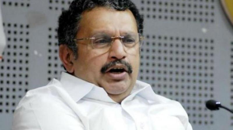 Congress legislator K. Muraleedharan