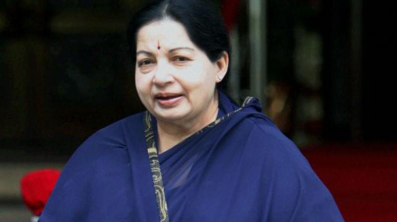 Tamil Nadu Chief Minister J Jayalalithaa. (Photo: DC/File)