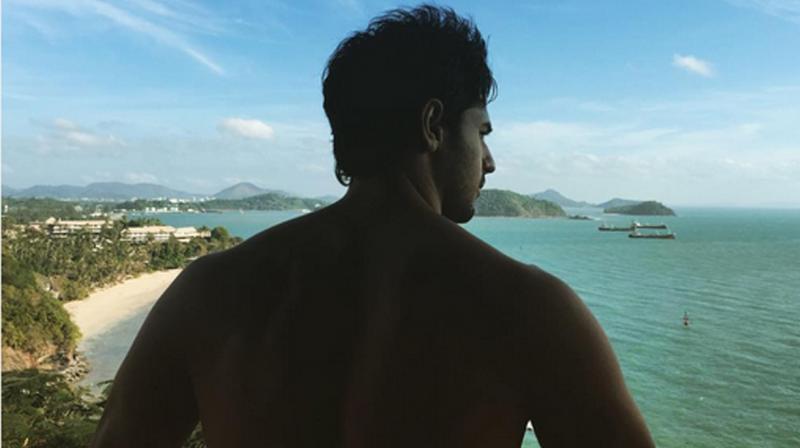 Sidharth Malhotra preps up to shoot a sequence for Baar Baar Dekho in Thailand.