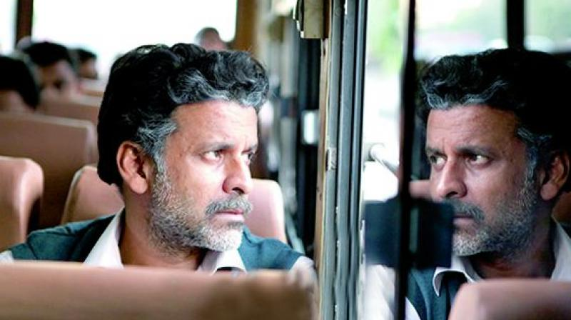 A still from the movie Aligarh
