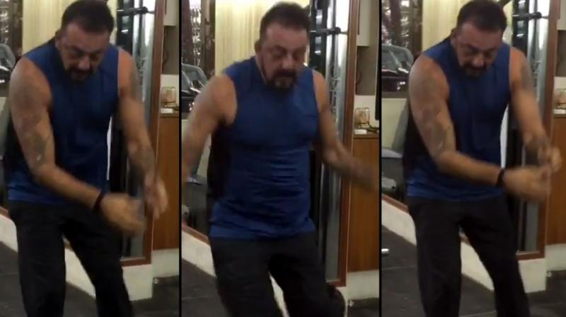 Watch sanjay dutt back to working on 6 pack abs sanjay is whipping his body into shape as he preps for his big bollywood comeback altavistaventures Image collections