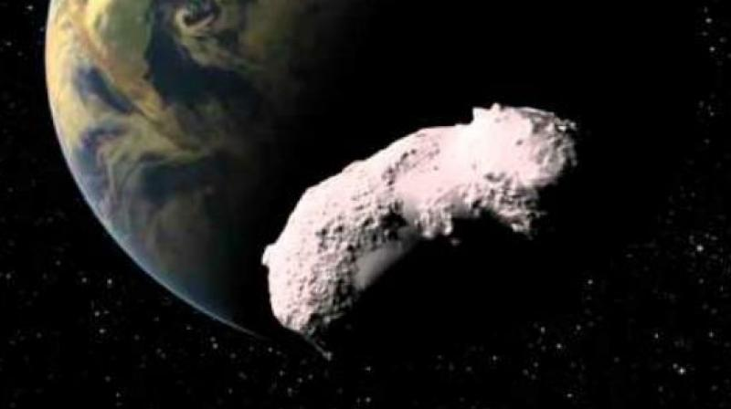 A small asteroid has been discovered by NASA scientists in an orbit around the Sun. (Representational Image)