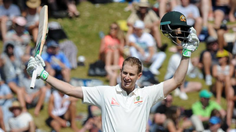 The 36-year-old Adam Voges will resume his innings against New Zealand in Wellington Test on Sunday building on a 100.33 average. (Photo: AP)