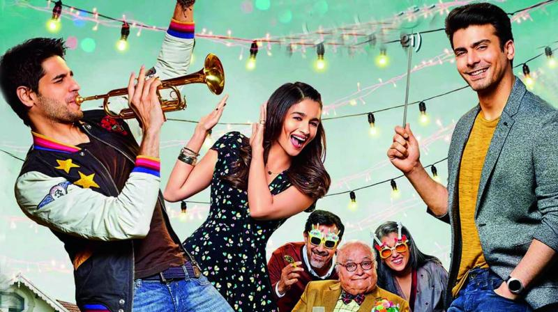 Movie poster of Kapoor & Sons