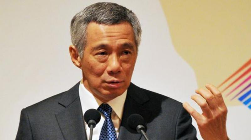 Singapore Prime Minister Lee Hsien Loong. (Photo: AFP)