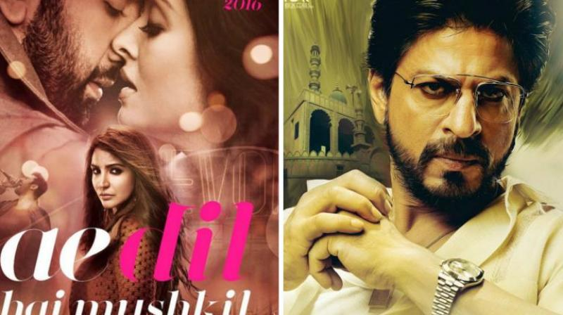 'Ae Dil Hai Mushkil' is releasing this Diwali while 'Raees' is slated to release early next year.