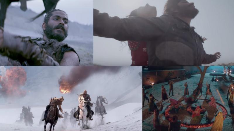 Screengrabs from the song 'Mirzya'.