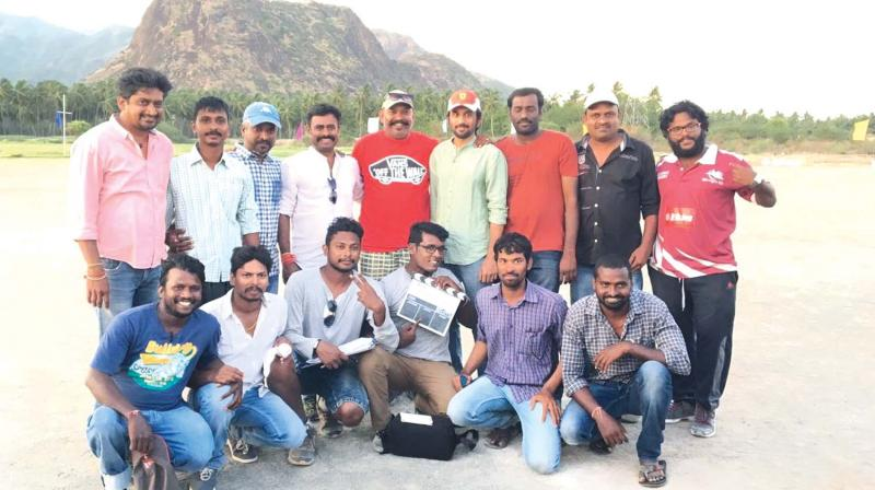 On the sets of Chennai 28 sequel
