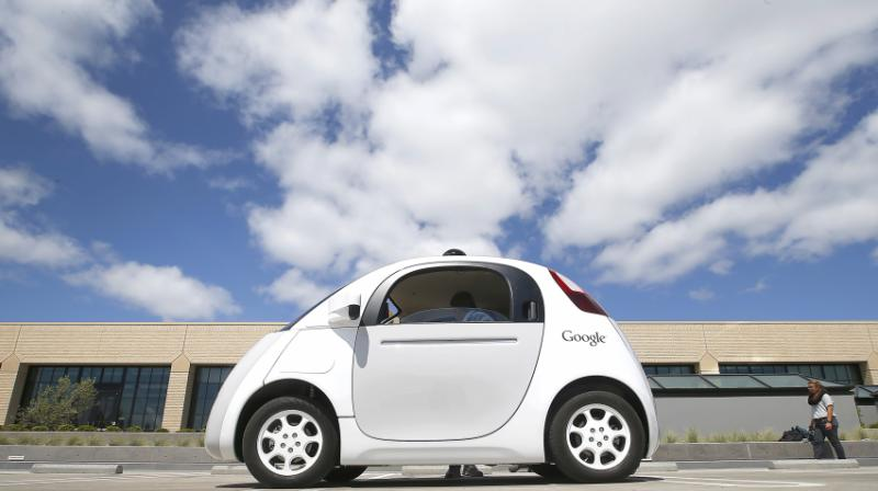 Google self-driving car (Photo: AP)