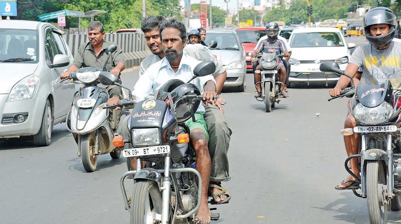 Chennai Traffic Police Hope Heavy Fines Will Bring Down