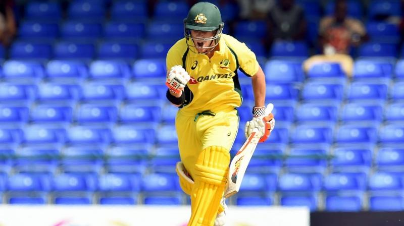 After David Warner's first ODI hundred away from home anchored the World Cup holders to a challenging total of 288 for six the Proteas relied on composed half-centuries from Faf du Plessis and Hashim Amla to establish the launch pad from which they looked destined to reach the target comfortably. (Photo: AFP)