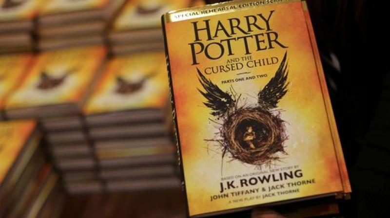 The big problem is The Cursed Child is less an original story than a remix of the existing Potter mythology, The Hollywood Reporter commented. (Photo: AFP)