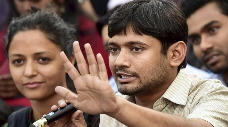 JNUSU students' union president Kanhaiya Kumar. (Photo: PTI/File)