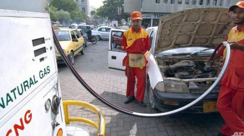 CNG price was hiked on Monday as the input raw material got costlier because of rupee depreciation and rise in natural gas price. (Photo: File)