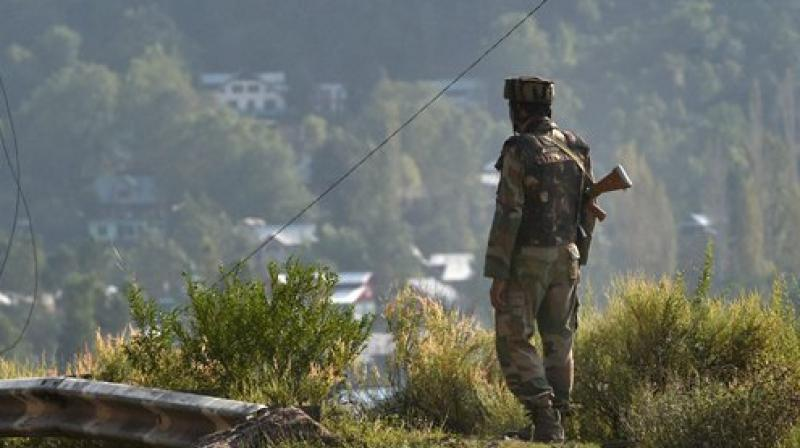 Internet and mobile phone services also remained suspended in Kashmir. However, landline phone services have been restored in the Valley whereas voice calls on mobile phones are working in few areas of Kupwara district. (Photo: PTI)