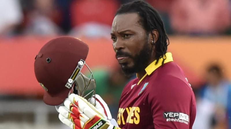 Chris Gayle is set to return to the top of the batting order as the West Indies seek to clinch a World Twenty20 semifinal spot on Friday against a South African side who can't afford to lose. (Photo: AFP)