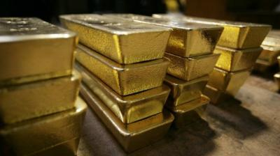 Globally, gold prices rose 0.30 per cent to USD 1,488 an ounce in New York.