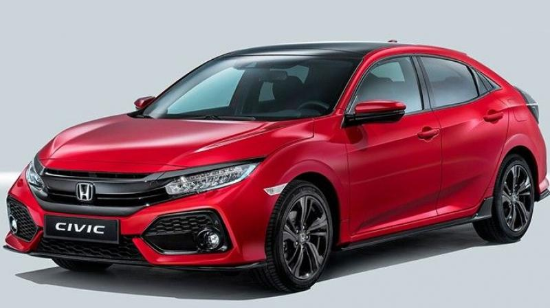 Honda Will Showcase The European Version Of Hatchback At Upcoming 2016 Paris Motor Show