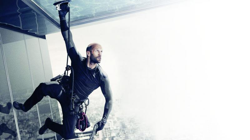 A still from the movie Mechanic: Resurrection