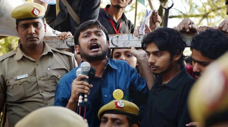 The JNU administration withdrew the private security cover provided to university's student's union president Kanhaiya Kumar. (Photo: PTI)