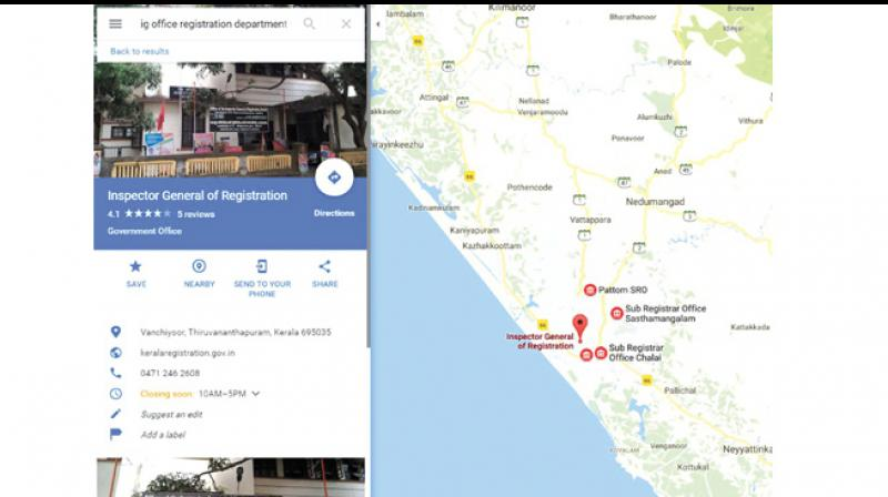 Map My Home App To Get Grand Launch In Kannur - Kannur map