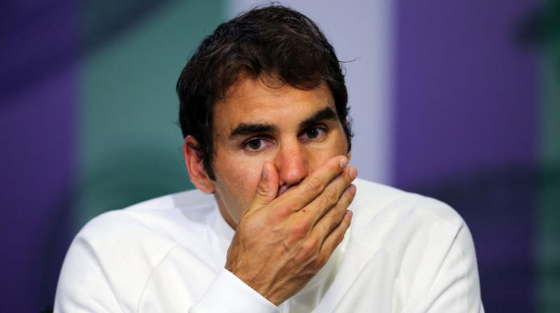 Roger Federer, who suffered a heartbreaking five-set loss to Milos Raonic in the semifinals at Wimbledon just over a fortnight ago, is enduring the toughest year of his career. (Photo: AP)