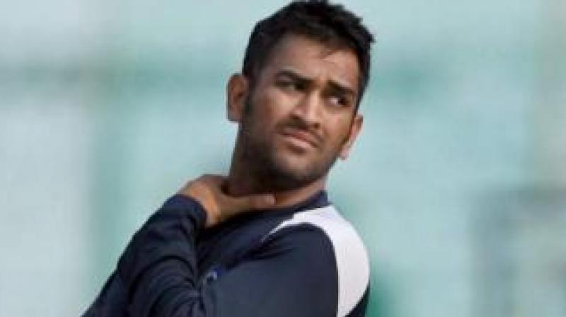 Team India skipper M.S. Dhoni