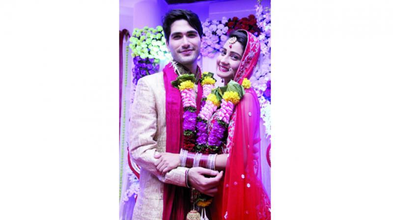 Ishani Sharma and Varun Toorkey of Humko Tumse Hogaya Hai Pyaar Kya Karein, who have a bond right from their first day.