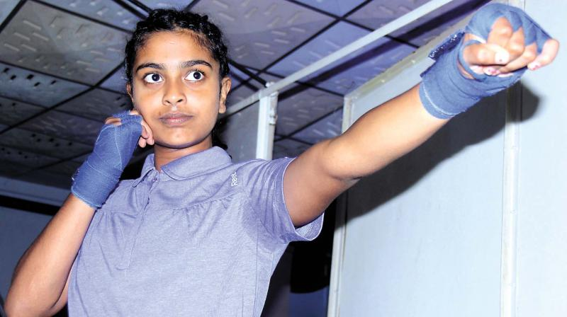 Kerala's first female mixed martial arts performer is here