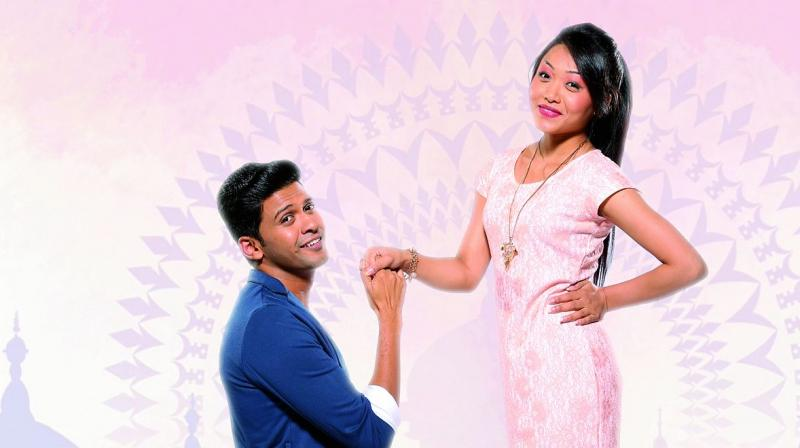 Naveen is also the lead in a web series, Chinese Bhasad, where he plays a Lucknowi who is in love with a Chinese woman.