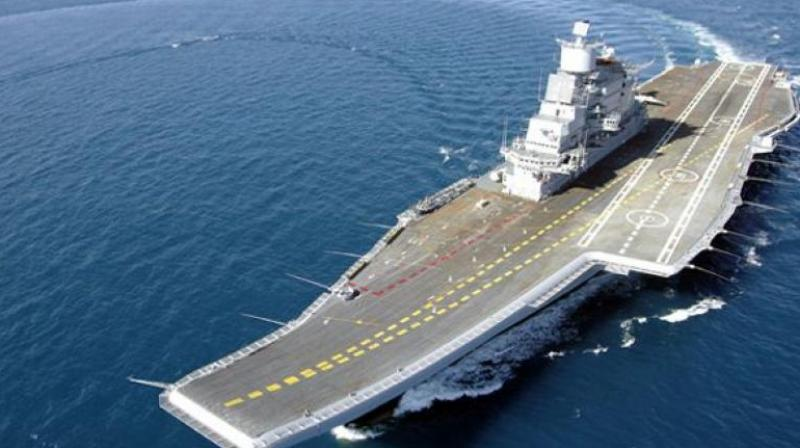 File picture of INS Vikramaditya (Photo: PTI)