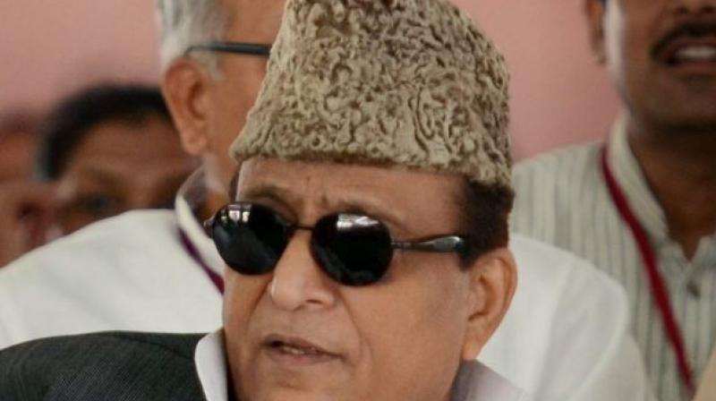 UP minister Azam Khan. (Photo: PTI)