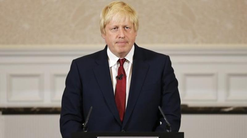 The former foreign secretary -- the leading contender to replace May after her resignation as Conservative leader Friday -- also signalled he would scrap a controversial provision for the Irish border contained in the current divorce deal. (Photo: File)