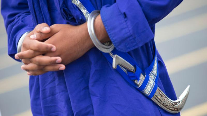 Two elderly Sikh men were stopped by staff and security at a store in Canada for entering with their kirpans. (Photo: AP/Representational)