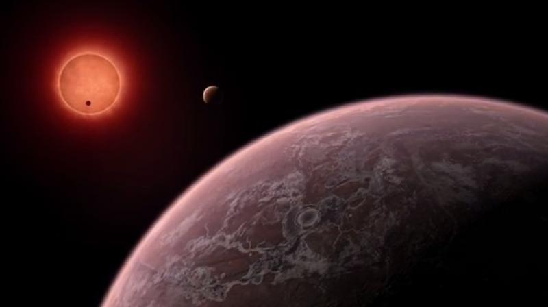 The three habitable planets have been discovered around the dwarf star, TRAPPIST-1. (Photo: Screen grab/ youtube)