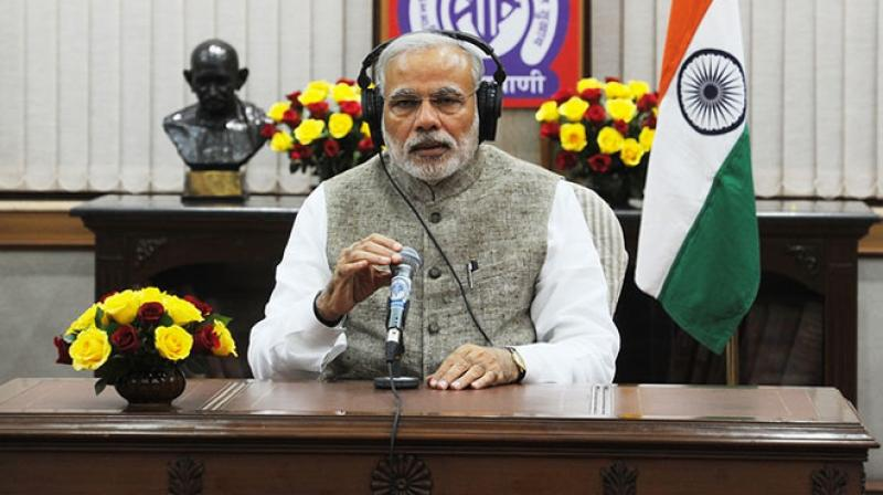 Prime Minister Narendra Modi will share his thoughts in his radio address 'Mann Ki Baat' on Sunday. (Photo: PTI)