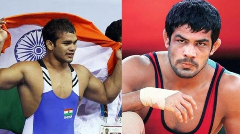 Sushil and Narsingh were locked in a bitter legal battle as to who would represent the country in the 74kg category.  (Photo: PTI)