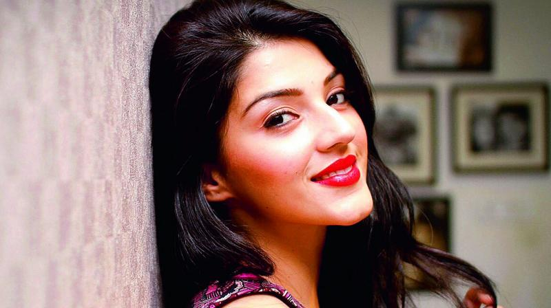 Moving up: Mehreen says she may also soon be  debuting in a Hindi movie.