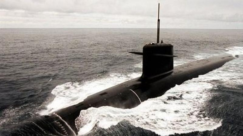 The Chinese submarine is believed to be armed with surface-air and long range missiles. (Representational image)