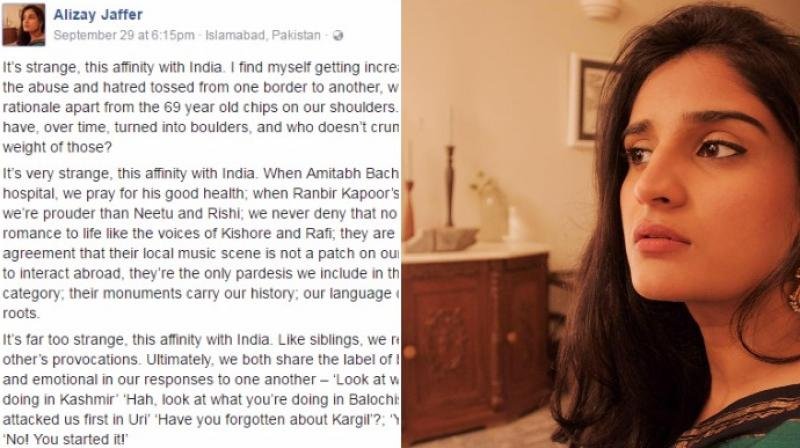 She talks about how both countries are similar in so many ways (Photo: Facebook)