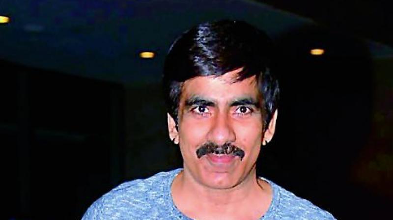 Actor Ravi Teja