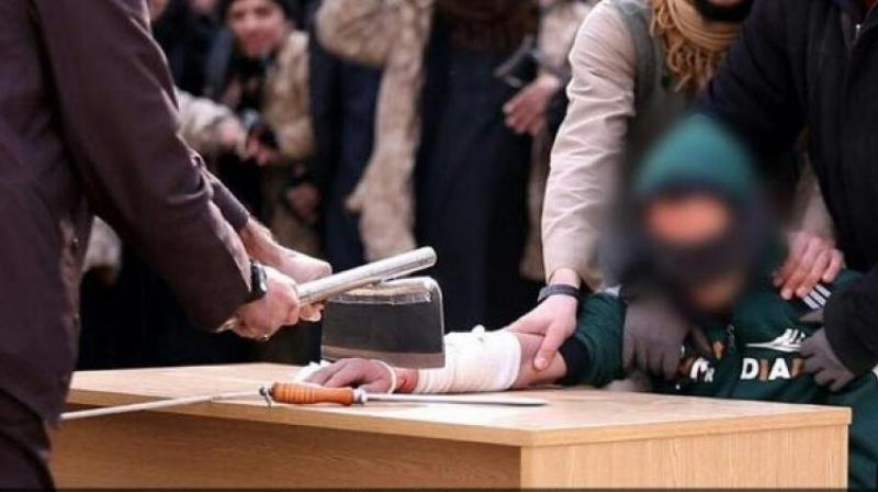 Blindfolded And Held Down On A Chair Isis Continues To Torment Victims
