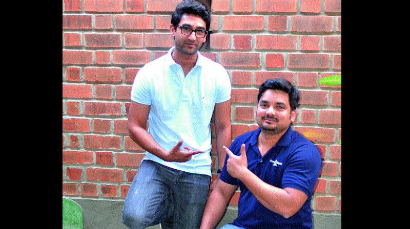 Advith and  Abhijit Shetty