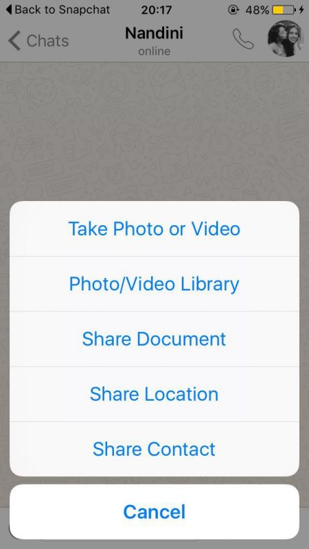 how to send photos from whatsapp to email