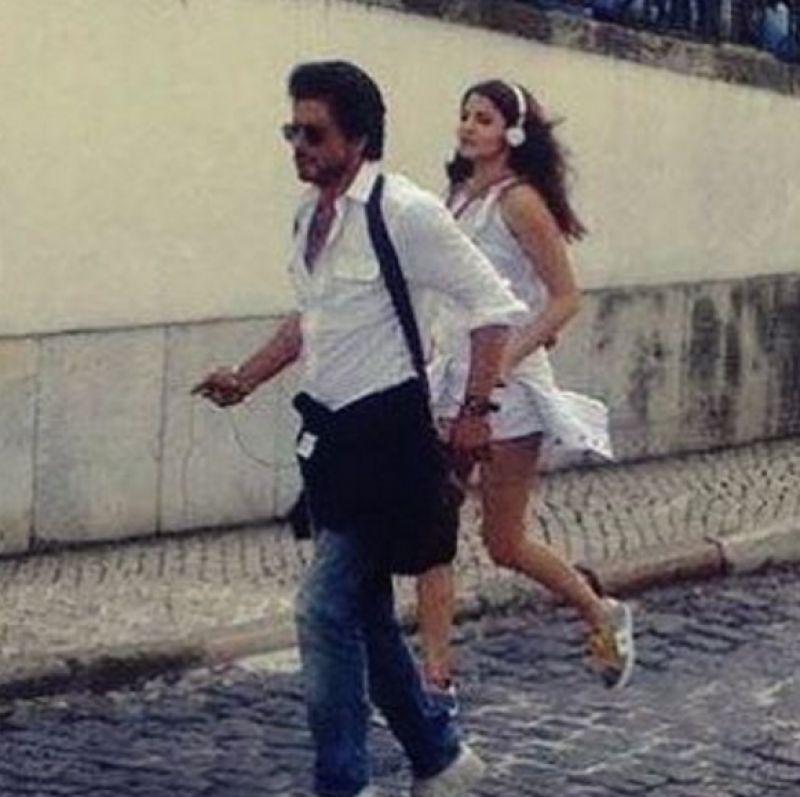 Shah Rukh Khan Anushka Sharma The Ring