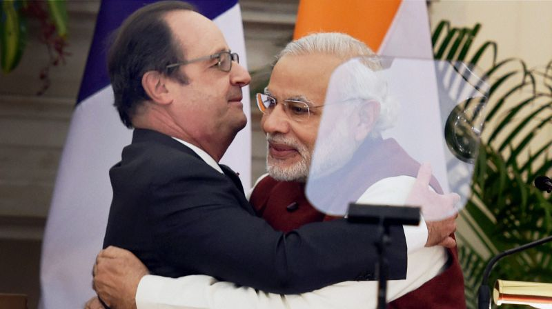 Modi had signed a deal with France in January but said the two countries would sort out the financial aspects later.